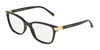 DOLCE & GABBANA DG5036 Butterfly Eyeglasses  501-BLACK 53-17-140 - Color Map black