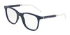 DOLCE & GABBANA DG5037 Square Eyeglasses  3094-MATTE BLUE 53-20-145 - Color Map blue