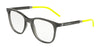DOLCE & GABBANA DG5037 Square Eyeglasses  3160-TRANSPARENT GREY 53-20-145 - Color Map grey