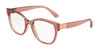 DOLCE & GABBANA DG5040 Butterfly Eyeglasses  3148-TRANSPARENT PINK 54-18-140 - Color Map pink
