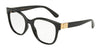 DOLCE & GABBANA DG5040 Butterfly Eyeglasses  501-BLACK 54-18-140 - Color Map black