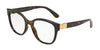 DOLCE & GABBANA DG5040 Butterfly Eyeglasses  502-HAVANA 54-18-140 - Color Map havana