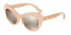 DOLCE & GABBANA DG6110 Cat Eye Sunglasses  30995A-PEARL PINK 52-18-140 - Color Map pink