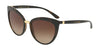 DOLCE & GABBANA DG6113 Cat Eye Sunglasses  502/13-HAVANA 55-18-140 - Color Map havana