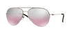 DKNY Donna Karan New York DY5080 Pilot Sunglasses  10027E-SILVER 58-15-140 - Color Map silver