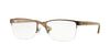DKNY Donna Karan New York DY5648 Rectangle Eyeglasses  1024-DARK BROWN 53-18-140 - Color Map brown