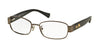 Coach HC5075 Rectangle Eyeglasses  9017-DARK BROWN 53-17-135 - Color Map brown
