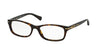 Coach ELISE HC6054 Rectangle Eyeglasses  5001-DARK TORTOISE 52-16-135 - Color Map havana
