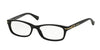 Coach ELISE HC6054 Rectangle Eyeglasses  5002-BLACK 52-16-135 - Color Map black