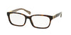 Coach DARCY HC6062 Square Eyeglasses  5262-DARK TORT/DARK TORT SAND SIG C 53-16-135 - Color Map havana