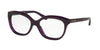Coach HC6096 Square Eyeglasses  5249-DEEP PURPLE 53-16-135 - Color Map violet