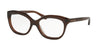 Coach HC6096 Square Eyeglasses  5430-DARK BROWN 53-16-135 - Color Map brown