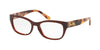 Coach HC6104 Square Eyeglasses  5531-DARK HONEY SOLID 52-16-140 - Color Map honey