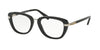 Coach HC6106B Square Eyeglasses  5177-BLACK SILVER 50-19-135 - Color Map black