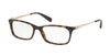 Coach HC6110F Rectangle Eyeglasses  5485-DARK TORTOISE 54-16-140 - Color Map havana