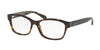 Coach HC6116F Rectangle Eyeglasses  5507-DARK TORTOISE 54-16-140 - Color Map tortoise
