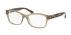 Coach HC6116F Rectangle Eyeglasses  5508-OLIVE 54-16-140 - Color Map olive