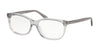 Coach HC6139U Pillow Eyeglasses  5176-TRANSPARENT GREY 55-15-140 - Color Map grey