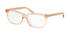 Coach HC6139U Pillow Eyeglasses  5561-TRANSPARENT LIGHT BROWN 53-15-140 - Color Map brown