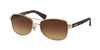 Coach L129 HC7054 Pilot Sunglasses  920913-LIGHT GOLD/DARK TORTOISE 56-16-135 - Color Map gold