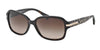 Coach L082 AMBER HC8105 Rectangle Sunglasses  522713-DK TORTOISE/BEIGE OCELOT SIG C 58-16-135 - Color Map havana