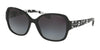 Coach L154 HC8166 Butterfly Sunglasses  534811-BLACK/BLACK CRYSTAL MOSAIC 58-18-135 - Color Map black