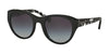 Coach L155 HC8167 Cat Eye Sunglasses  534811-BLACK/BLACK CRYSTAL MOSAIC 52-22-135 - Color Map black