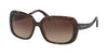 Coach L1591 HC8178 Rectangle Sunglasses  512013-DARK TORTOISE 57-17-140 - Color Map havana