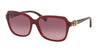 Coach L1599 HC8179F Square Sunglasses  5393G2-BURGUNDY 58-16-135 - Color Map bordeaux