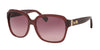 Coach L1603 HC8185F Square Sunglasses  5396G2-MLKY BLK CHERRY/AMARANTH SIG C 58-16-140 - Color Map bordeaux