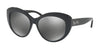 Coach HC8206F Cat Eye Sunglasses  54206G-BLACK/BLACK GUNMETAL SIG C 55-16-140 - Color Map black