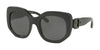 Coach L1003 HC8228 Square Sunglasses  500287-BLACK 53-21-140 - Color Map black
