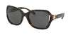 Coach L1030 HC8238 Square Sunglasses  550787-DARK TORTOISE 57-20-135 - Color Map tortoise
