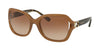 Coach L1030 HC8238 Square Sunglasses  554313-BEIGE 57-20-135 - Color Map beige