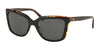 Coach L1071 HC8261F Square Sunglasses  544687-BLACK/TORTOISE 57-16-140 - Color Map havana