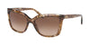 Coach L1071 HC8261F Square Sunglasses  556274-BROWN TORTOISE 57-16-140 - Color Map brown