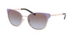 Michael Kors TIA MK1022 Square Sunglasses  118368-LAVENDR GRADIENT ROSE GLD-TONE 54-17-140 - Color Map violet