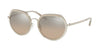 Michael Kors IBIZA MK1034 Irregular Sunglasses  30438Z-SILVER 53-19-140 - Color Map silver