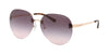 Michael Kors SYDNEY MK1037 Pilot Sunglasses  11085M-ROSE GOLD 60-14-140 - Color Map gold
