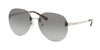 Michael Kors SYDNEY MK1037 Pilot Sunglasses  115311-SHINY SILVER 60-14-140 - Color Map gold