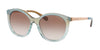 Michael Kors ISLAND TROPICS MK2034 Round Sunglasses  350713-MULTICOLOR GREEN 55-18-140 - Color Map green
