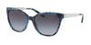 Michael Kors MK2058F Square Sunglasses  331011-NAVY MARBLE 55-17-140 - Color Map navy