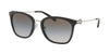 Michael Kors LUGANO MK2064 Square Sunglasses  3005M0-BLACK 53-20-140 - Color Map black