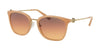 Michael Kors LUGANO MK2064 Square Sunglasses  3353H4-MILKY AMBER 53-20-140 - Color Map amber
