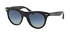 Michael Kors BORA BORA MK2074F Cat Eye Sunglasses  30054L-BLACK ACETATE 49-20-140 - Color Map black