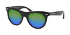 Michael Kors BORA BORA MK2074F Cat Eye Sunglasses  3005U1-BLACK ACETATE 49-20-140 - Color Map black