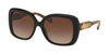 Michael Kors MK2081F Rectangle Sunglasses  300513-BLACK 56-17-140 - Color Map black