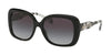 Michael Kors MK2081F Rectangle Sunglasses  30058G-BLACK 56-17-140 - Color Map black
