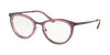 Michael Kors CAPETOWN MK3021 Cat Eye Eyeglasses  1158-MATTE PLUM 51-19-140 - Color Map plum