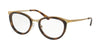 Michael Kors CAPETOWN MK3021 Cat Eye Eyeglasses  1168-MATTE PALE GOLD-TONE 51-19-140 - Color Map gold